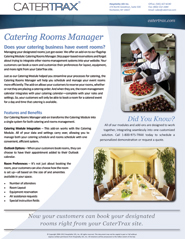 Catering Rooms Manager Brochure