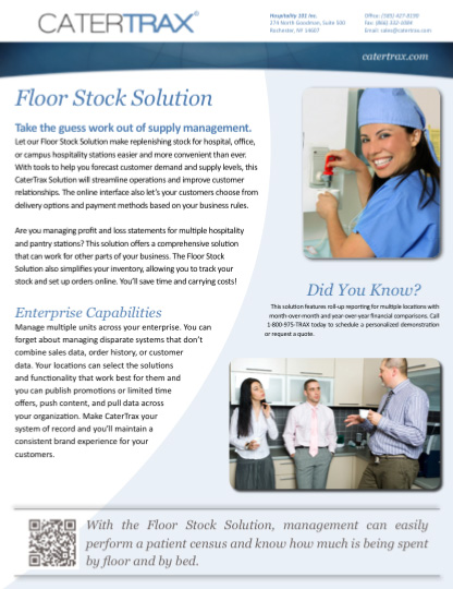 Floor Stock Solution